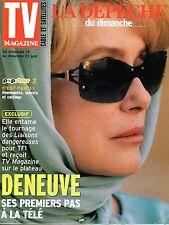 TV RIVISTA 2002: CATHERINE DENEUVE_VONDA SHEPARD_DAVE_SANDRINE BONNAIRE
