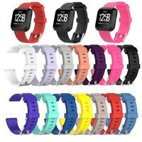 Replacement Sport Soft Silicone Watchband Strap Band for Fitbit Versa Smartwatch