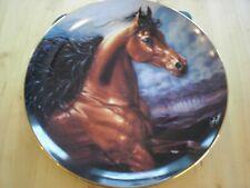 Danbury Mint Noble & Free Collection Plate 1993 by Susie Morton Chosen Champion