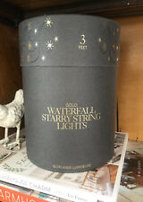 Restoration Hardware waterfall starry string lights 3'
