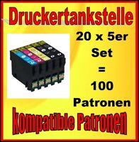 100x für Epson Stylus S22 SX125 SX130 SX230 SX235W SX420W SX425W SX430W SX435W