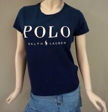 Polo Ralph Lauren Women's Navy Classic Logo Crew T-shirt Size M