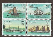 Palau 51 - 54 - Explorer Ships.  MNH.OG.    #02 PALAU51s