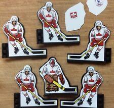 Custom Coleco Table Hockey Players- WHA Calgary Cowboys