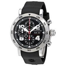 Chronoswiss Timemaster Black Dial Mens Chronograph Watch CH-9043-BK/71-2