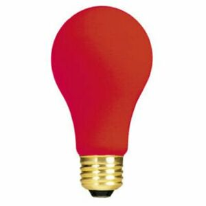 Bulbrite 106740 40W Ceramic Red A19 Bulb