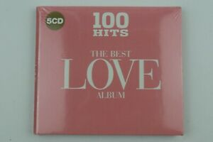 100 Hits The Best Love Album 5 Disc CD - New