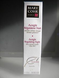 Mary Cohr Acnight Regulator Night Serum Cream Face Skins Fat Night Oily
