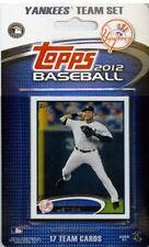 New York Yankees 2012 Topps Factory Sealed Team Set Jeter Rivera Sabathia Pineda