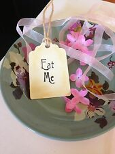 Eat Me Vintage Style Alice In Wonderland Tags Set Of 10