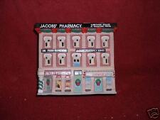 "Coca-Cola 1993 ""Original"" ""EXCLUSIVE"":""TOWN SQUARE"" Porcelain JACOB'S  PHARMACY"