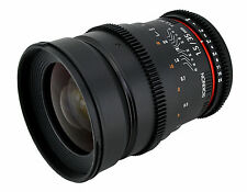 Samyang 35mm T1.5 II Cine Wide Angle Lens for Canon EF Mount - Newest Version!