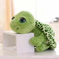 Cute Big Eyes Green Tortoise Turtle Animal Baby Kids Stuffed Plush Toy 20cm