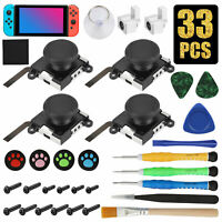 3D Analog Sensor Stick Joystick Repair Parts Kits for Nintendo Switch NS Joy-Con