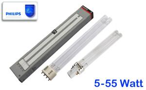 Philips UVC Lampe Klärgerät Entkeimung 5 7 9 11 18 24 36 55 W Osaga Oase Bitron