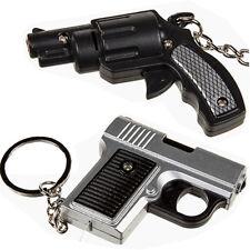 Glock Revolver réplica Pistola Arma De Metal KEYRING LLAVERO Sonido Luz Led Nuevo