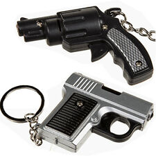 METAL GLOCK Revolver REPLICA PISTOLA GUN Portachiavi Portachiavi Suono LED Luce Nuovo