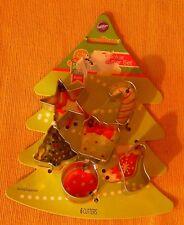 WILTON Miniature CHRISTMAS COOKIE CUTTER SET
