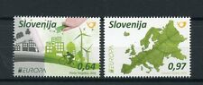 Slovenia 2016 MNH Europa Think Green 2v Set Bicycles Windmills Stamps