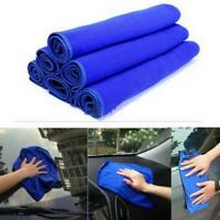 Soft Microfiber Cleaning Towel Car Auto Wash Dry Home Kitchen Cleann Cloth UK