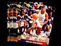 1992-93 Upper Deck ISIAH THOMAS ~ 40 CARD LOT  ~ ALL-STAR WEEKEND
