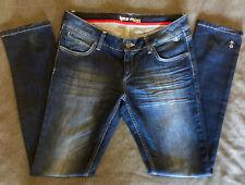 Kate Moss for Topshop Moto Distressed 5-Pocket Denim Jeans sz 28 x 30 RARE!