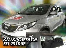 4 Deflettori Aria Antiturbo KIA Sportage III 2010-2015 5 porte