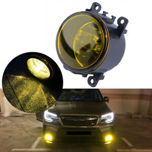 Left/Right Fog Light Lamp Yellow Lens H11 For Acura Honda Ford Nissan Subaru