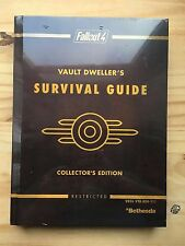 Fallout 4 Vault Dweller's Survival Guide Collector's Edition Hardback Sealed New