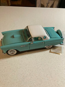 Franklin Mint Precision Models 195 Ford Thunderbird 1/24 Scale Nice