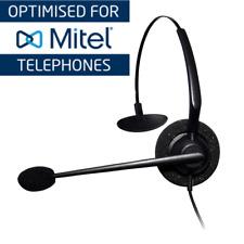 Mitel 5324 Entry Level Monaural Noise Cancelling Headset | Complete Unit