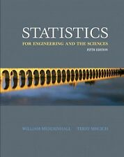 Statistics for Engineering and the Sciences (5th Edition)