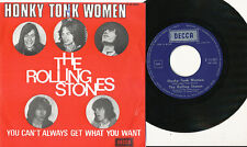 THE ROLLING STONES 45 TOURS BELGIQUE HONKY TONK WOMEN