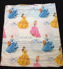 Disney Princesses Dear Diary Flat Full Sheet or Use For Fabric
