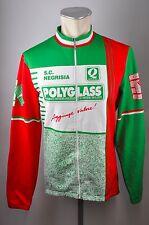 Nalini Polyglass vintage Cycling bike rueda chaqueta size 5 BW 51cm