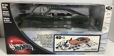 HOT WHEELS 100% 1969 DODGE CHARGER ASSEMBLY KIT DK GREEN 1:18 SCALE DIECAST
