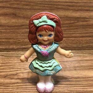 1991 Playskool FLIP N FANCY Girl Doll Twist Toy Figure