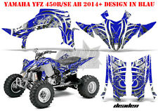 AMR Racing DECORO GRAPHIC KIT ATV Yamaha YFZ 450 04-14,yfz 450r 09-16 deaden B