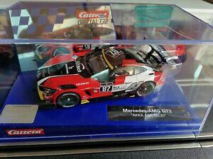 Carrera digital 132 rare mercedes AMG GT3 avec lumières neuve. (Scalextric).