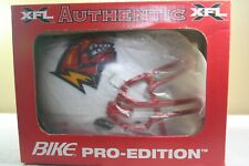 Vtg ORLANDO RAGE BIKE XFL Full Size Game Helmet Football Helmet New NOS in BOX