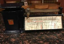 Vintage Triner Air Mail Accuracy Scale From The 50S Chart Says 1958