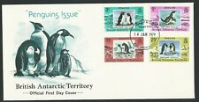 British Antarctic Territory 1979 First Day Cover Penguins Issue. 14th JAN 1979