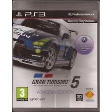 Gran Turismo 5 Academy Edition PS3 PlayStation 3 video juego como nuevo UK release