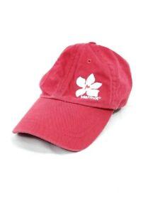 MARMOT Baseball Hat Cap Mens One Size Adjustable Red