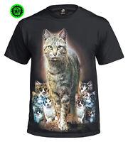 CAT KITTENS T-SHIRTS/MENS/LADIES/KIDS/CATS/CUTE/KITTY/BIKER/FUNNY/WILD/TOP/TEE