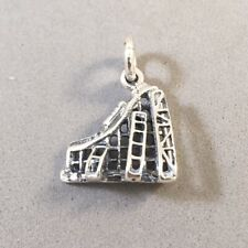 .925 Sterling Silver BEACH TOWEL//READING A BOOK CHARM NEW Pendant 925 HB31