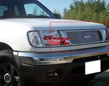 Fits 1998-2000 Nissan Frontier Main Upper Billet Grille Insert