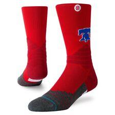NWT Stance Men's Philadelphia Phillies Diamond Pro Crew Sock Red - Large (9-12)