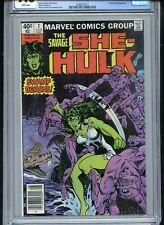 Savage She-Hulk #7 CGC 9.8 White Pages Severin/Sinnott Cover