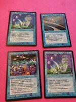 High Tide x4 4x Fallen Empires LP MTG Magic the Gathering Playset